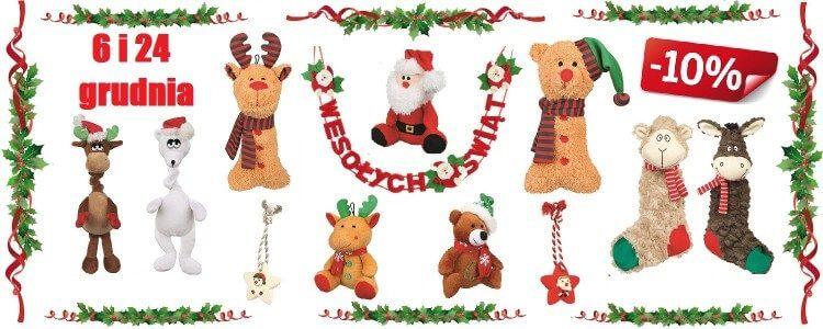 zabawki świąteczne dla zwierząt